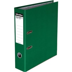 OfficeMax Lever Arch Board File A4 Green