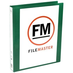 FM Overlay Ringbinder A4 26mm 2 Ring Green