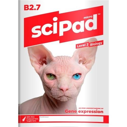 sciPAD AS 2 7 Biology Level 2 9780995105423