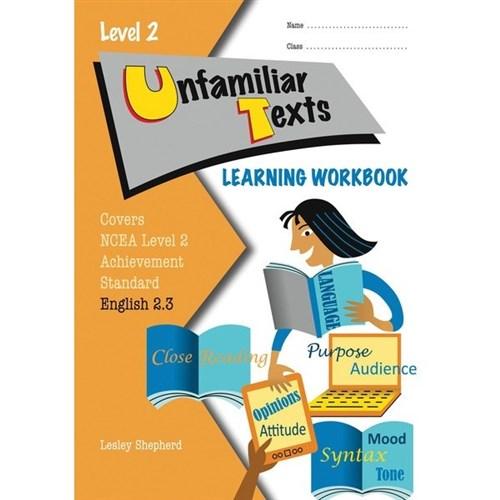 unfamiliar text ncea revision level 1