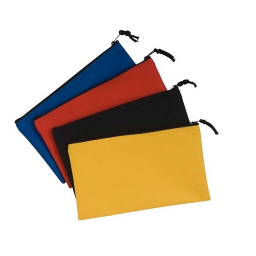 Flat Pencil Case Assorted Colours
